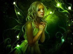 glowing fairy  #fairy   #fairies