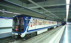 tren metro madrid -