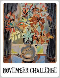 Autumn flowers by Marguerite Zorach. Please put NOV ABS in your description as Pinterest does not keep entries in order.