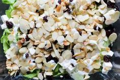 Party salad with feta cheese and cranberry ⋆ M&M COOKING - Fit Party Salads, Feta, Snack Recipes, Snacks, Food And Drink, Healthy Eating, Cheese, Cooking, Impreza