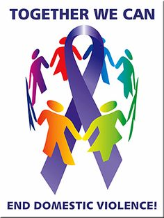 TOGETHER WE CAN END DOMESTIC VIOLENCE - Poster