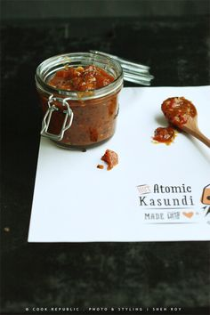 A spicy tomato chutney from Whole Larder Love. Not for the faint of heart.