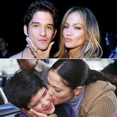 Jennifer Lopez and Tyler Posey had a Maid in Manhattan reunion!