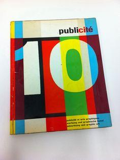 """Cover of """"Publićite 10"""" by Pierre Monnerat, 1959"""