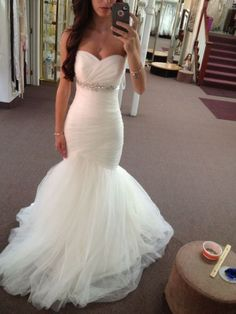 New style Sexy Wedding Dress mermaid,Bridal Gowns,Fashion Bridal Dress,Sexy Party Dress,Custom Made Evening Dress