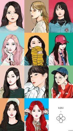 Japanese Art Modern, Japanese Graphic Design, K Pop, Chanyeol, Exo Lucky One, Character Illustration, Digital Illustration, Character Concept, Character Design