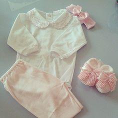 Look para as Pequenas #babygirl  #GrandPetit #grandpetitbaby 💛
