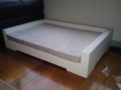 contemporary dog bed