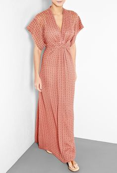 Is it wrong to wanna wear this as a night gown???Paprika Kimono Dress by Winter Kate