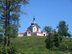 Zelená hora - kostel sv. Jana Nepomuckého - Žďár nad Sázavou - kraj Vysočina