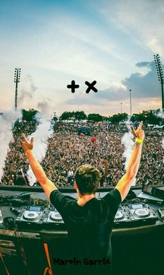 Martin Garrix is a Dutch DJ who makes a lot of music and is very popular on international levels.