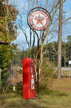 Take a look at at all these great signs I found for your mancave… Old Gas Pumps, Vintage Gas Pumps, Pompe A Essence, Soda Machines, Old Garage, Old Gas Stations, Somewhere In Time, Pump It Up, Texaco