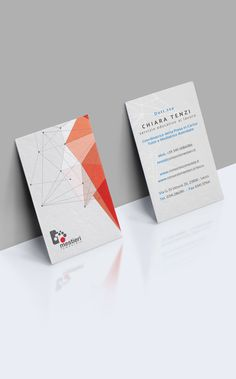 Corporate Polygonal Business Cards