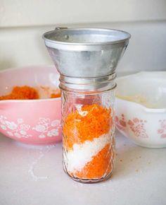 How to Make Homemade Orange Dream Bath Salts | Miss Wish