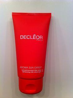 Best Sunless Tanner!! Aroma Sun Expert - DECLEOR