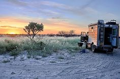 Bosluis at Piper Pan, Central Kalahari Game reserve , Botswana. I Am An African, Expedition Vehicle, Game Reserve, 4x4, The Good Place, Camper, Trail, Amazing, Places