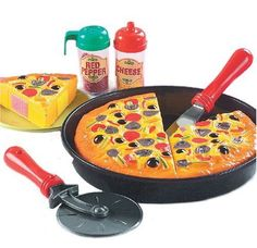 Small World Toys Living - My-Oh-My Pizza Pie 11 Pc. Playset, 2015 Amazon Top Rated Kitchen Toys #Toy