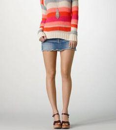 Women's AE Denim Miniskirt
