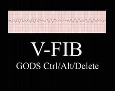 Hahaha. Wish I'd seen this before ACLS