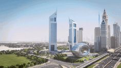 Dubai's Museum Of The Future Looks Like A Giant Promise Ring Covered In Poetry.