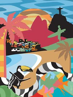 Poster Rio de Janeiro #popart #arte #rio