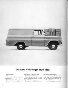Volkswagen Ad - Truck Idea