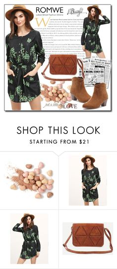 """""""ROMWE 10"""" by woman-1979 ❤ liked on Polyvore featuring Too Faced Cosmetics"""