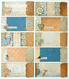 Lisa's Creative Corner: May Creative Club Kit - Florentine Stationery Set