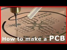 PCB making, PCB prototyping 0.4 mm PITCH !!! - machine for PCBs - YouTube