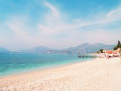 Beautiful seascape at Fethiye by Neirfy on Creative Market