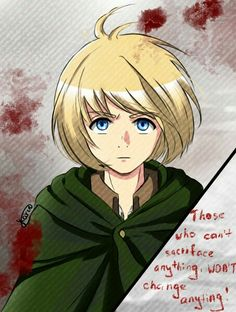 Armin Arlert || Attack on Titan || shingeki no kyojin || AOT || SNK