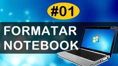 Como formatar notebook - 01 introdução a formatação - Mayko Santos