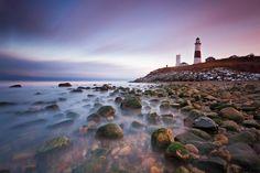 Montauk Point Sunset by Katherine Gendreau on 500px