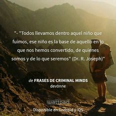 """I'm reading """"Frases de Criminal Minds"""" on #Wattpad.  #Quote"""