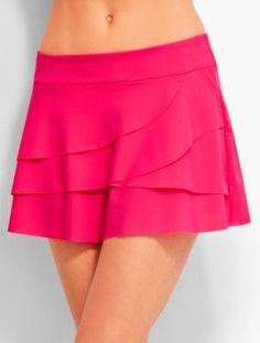 ed721d49f4b Talbots  Ruffled Swim Skirt   Miraclesuit(R) Ruffle Bikini Bottoms