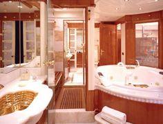 tour the beautiful 177-foot yacht billionaire carl icahn got, Innenarchitektur ideen