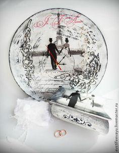 "Набор ""Love in Paris"" - чёрно-белый,набор,подарок на свадьбу,подарок"