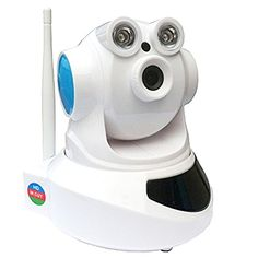 PowerLead Csaf PL-S369 IP Camera with 720P HD Resolution, Baby Monitor 2-Way Audio, Night Vision, Video Record and Smart Motion Detection Home Security Camera *** Want to know more, click on the image.