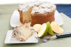 Carlino's Classic Apple Cake is made from a time-honored recipe, using only the finest ingredients. Each cake is made using fresh, hand-sliced Granny Smith apples, laced with cinnamon and sugar, and mixed by hand. Delicious served with freshly brewed coffee and tea.  www.carlinosmarket.com