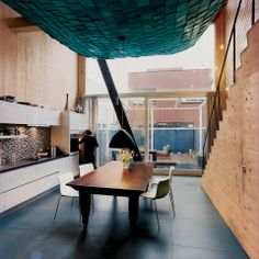 Interior The Centerpiece Of This Maritime Inspired Home In Amsterdam Is A Large