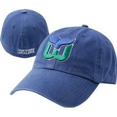 I'm in no way a Hartford Whalers fan, but this is an awesome hat!