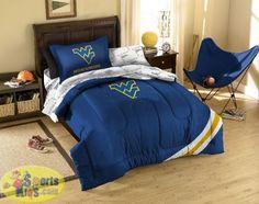 Northwest NCAA West Virginia Mountaineers Bed In a Bag