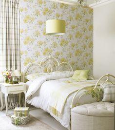 Dormitorio estilo Shabby Chic.