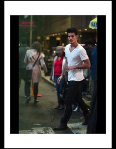 Anthony Gastelier, Photo Series, Gianni Versace, Times Square, Handsome, Guys, Sexy, Beauty, Editorial
