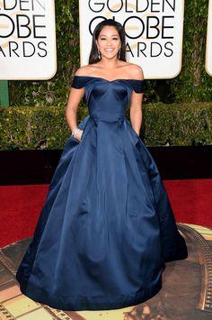 Gina Rodriguez Photos - 73rd Annual Golden Globe Awards - Arrivals - Zimbio
