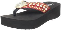 Yellow Box Women's Sicily Wedge Sandal