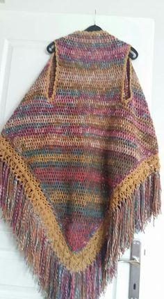 Afghan Crochet Patterns, Knit Vest, Tattoo Models, Needle And Thread, Crochet Projects, Midi Skirts, Shawl, Knit Crochet, Boho