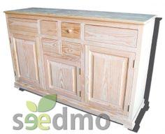 #Muebles #decoración aparador elena con cajones y puerta #lowcost compra Online