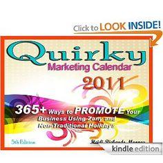 Quirky Marketing Calendar 2011 by Heidi Richards Mooney