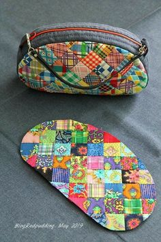 Quilted Purse Patterns, Patchwork Bags, Bag Patterns To Sew, Quilted Bag, Japanese Bag, Diy Bags Purses, Diy Tote Bag, Pencil Bags, Linen Bag